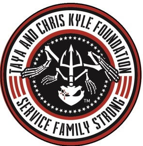 Taya and Chris Kyle Foundation - Service Family Strong Donation Logo