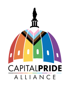 The Capital Pride Honors and Official Pride Opening Party Donation Logo